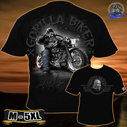 "Gorilla Biker - Herren ""Boss Ride"" T-Shirt"