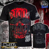 "Blood in Blood Out - Herren ""Red Art Skull"" T-Shirt"